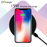 15W Zinc alloy Wirelesss FAST Charger